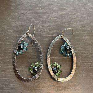 W2216 retired Silpada sterling silver earrings